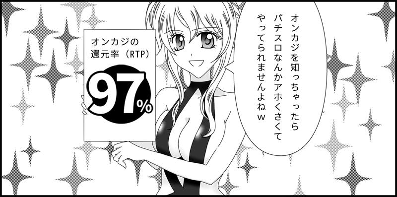 ペイアウト率97%のオンラインカジノ
