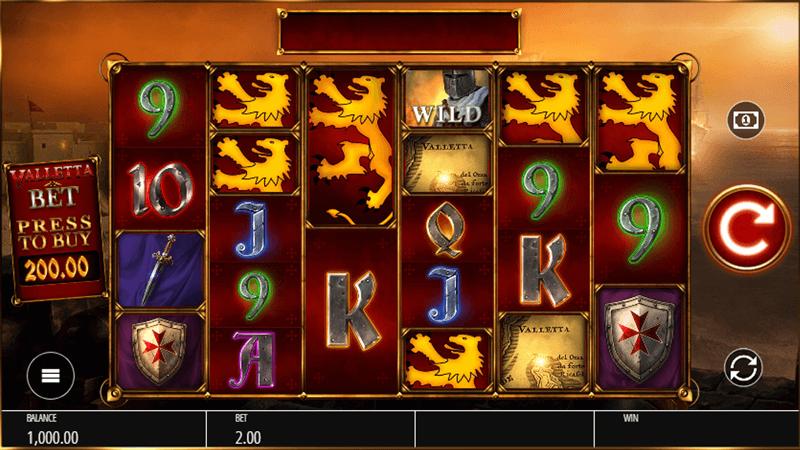 バレッタのゲーム画面