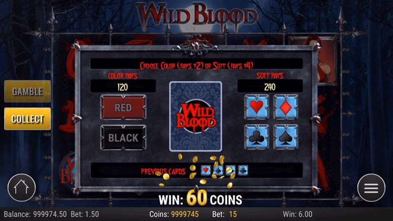 ギャンブルゲームに突入した場面