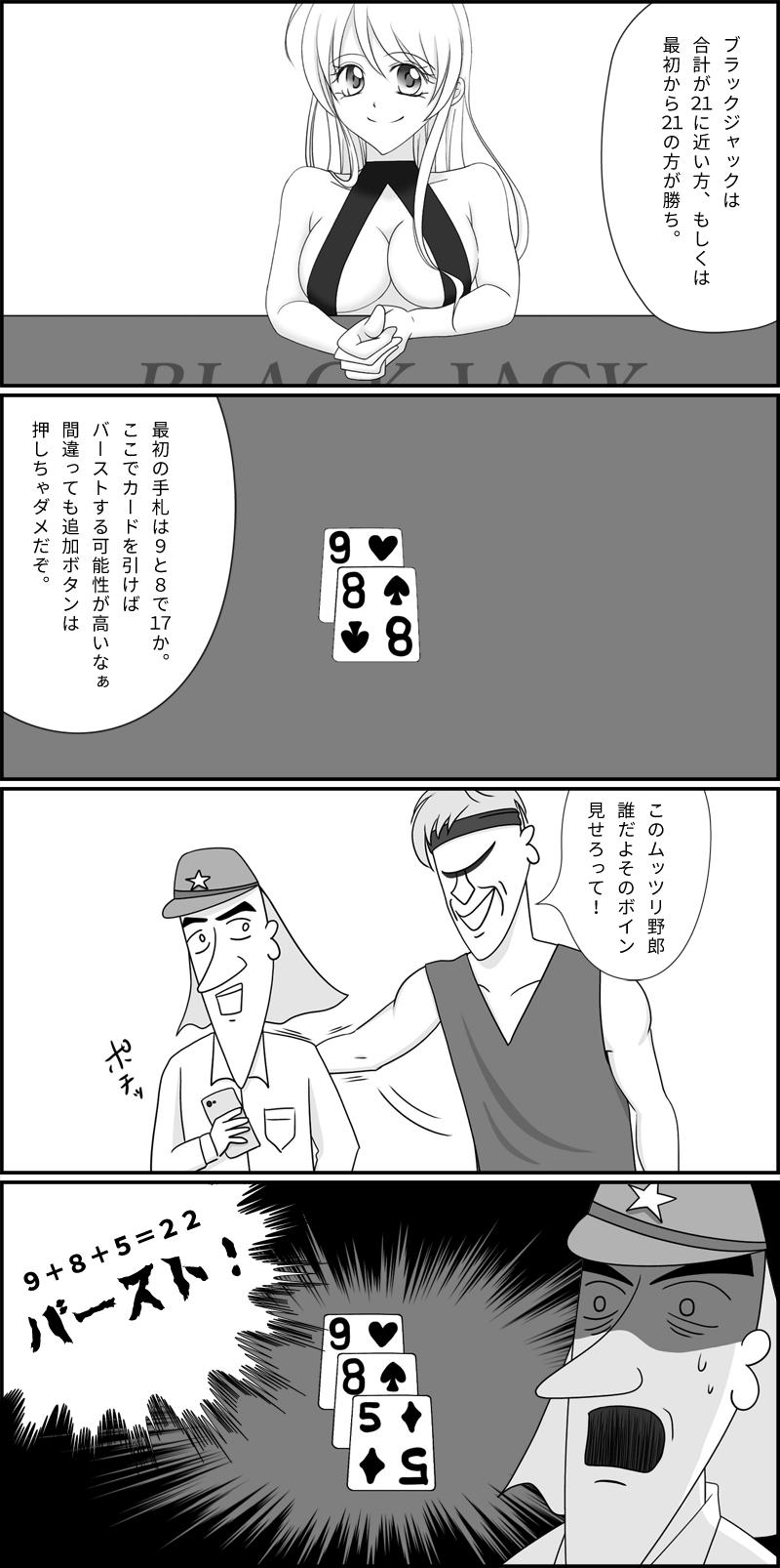 ブラックジャックの解説マンガ