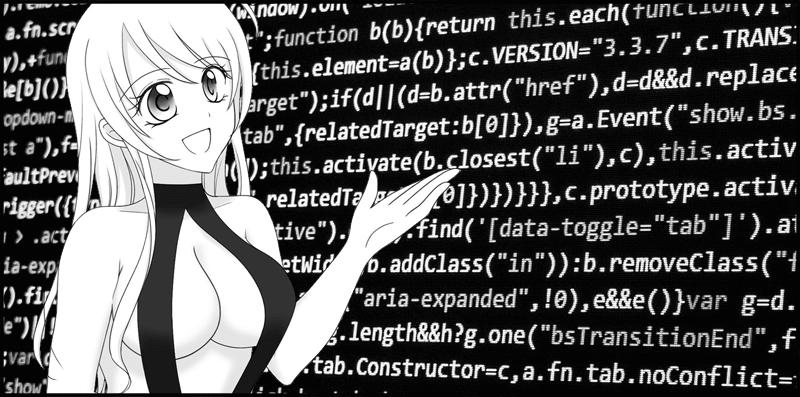 ブロックチェーン技術を説明するエリー